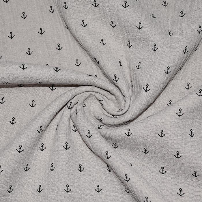 Tetra tkanina, dvojna, morski, 21454-052, svetlo rjava