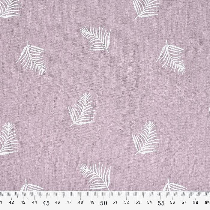 Tetra tkanina, dvojna, peresa, 21458-012, roza