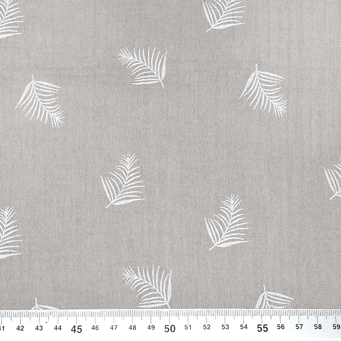 Tetra tkanina, dvojna, peresa, 21458-052, svetlo rjava