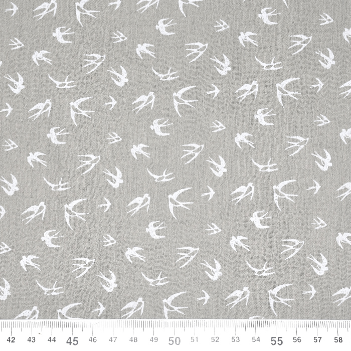 Tetra tkanina, dvojna, živalski, 21459-052, rjava
