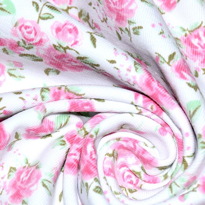 Jersey, bombaž, dišeči, cvetlični, 21462-050