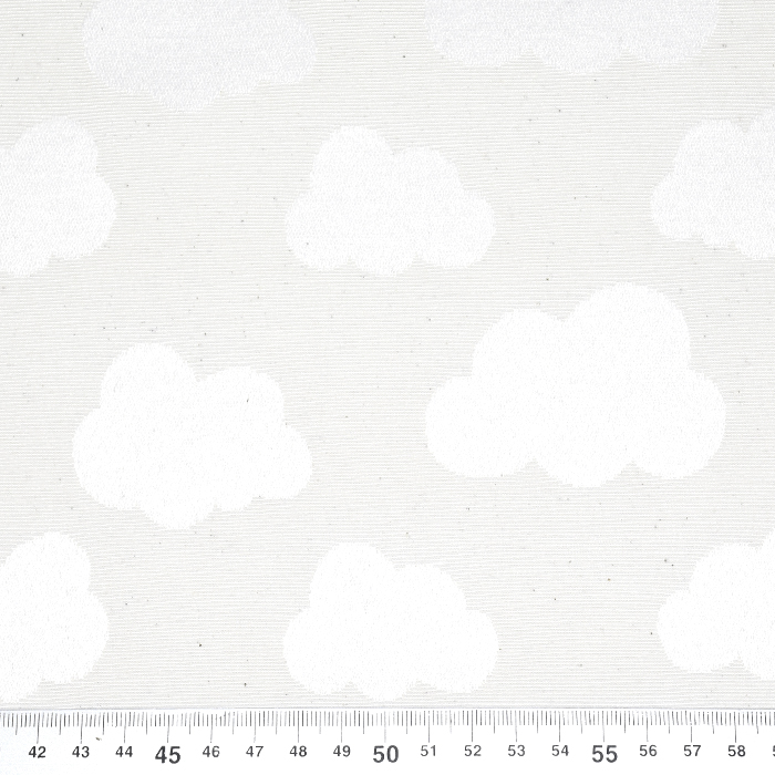 Damast, oblaki, 21474-051, smetana