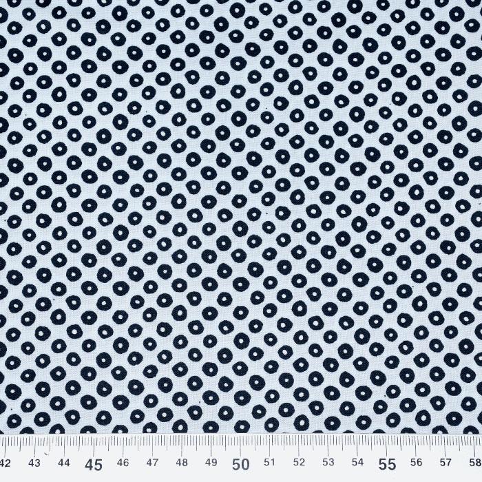 Bombaž, poplin, elastan, pike, 21489-1, modra