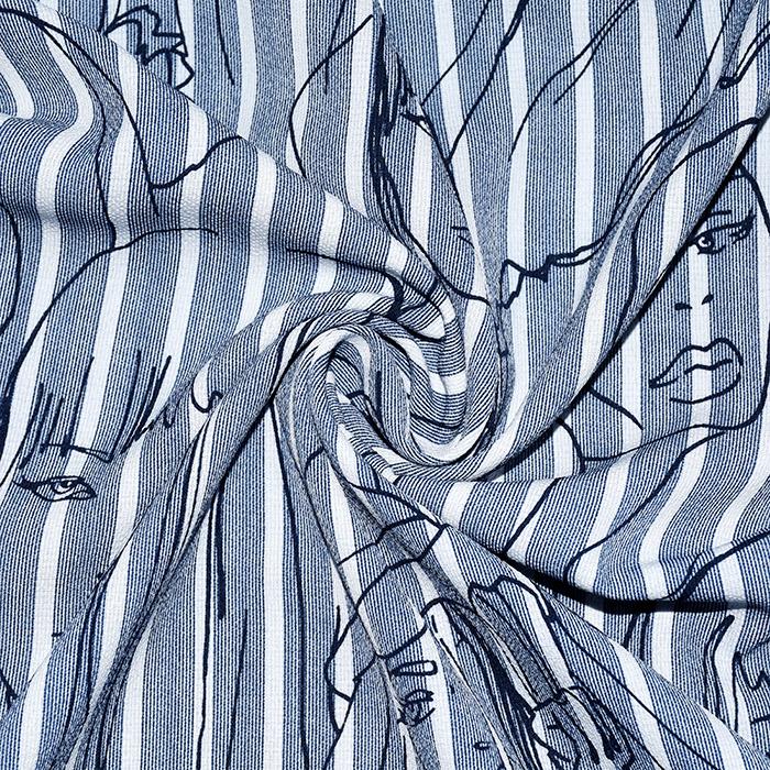 Tkanina, tanjša, modni, 21502
