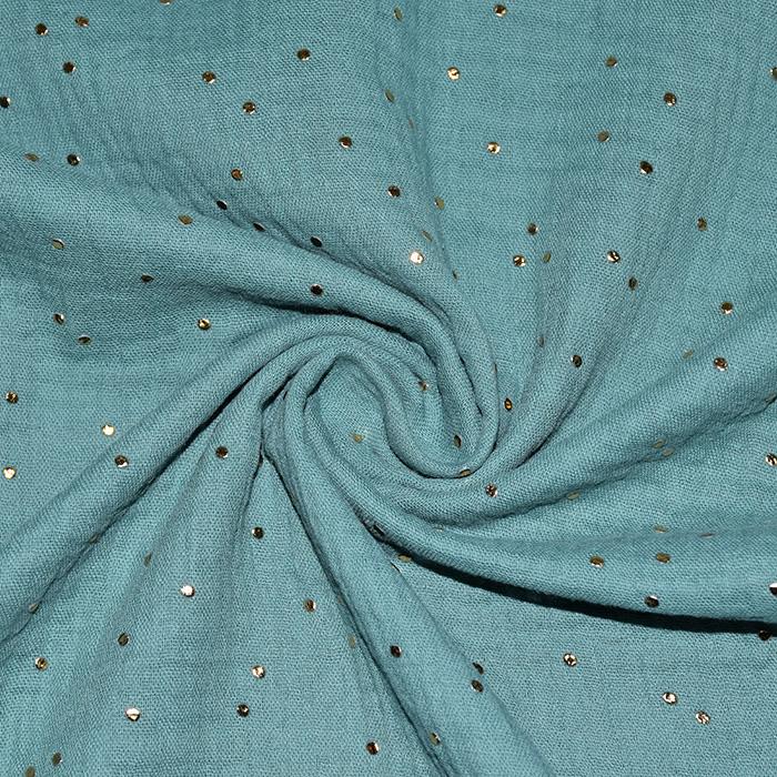 Tetra tkanina, dvojna, pike, 20757-11, mint