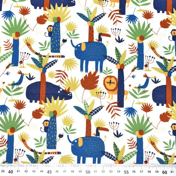 Jersey, bombaž, živalski, 19654-10