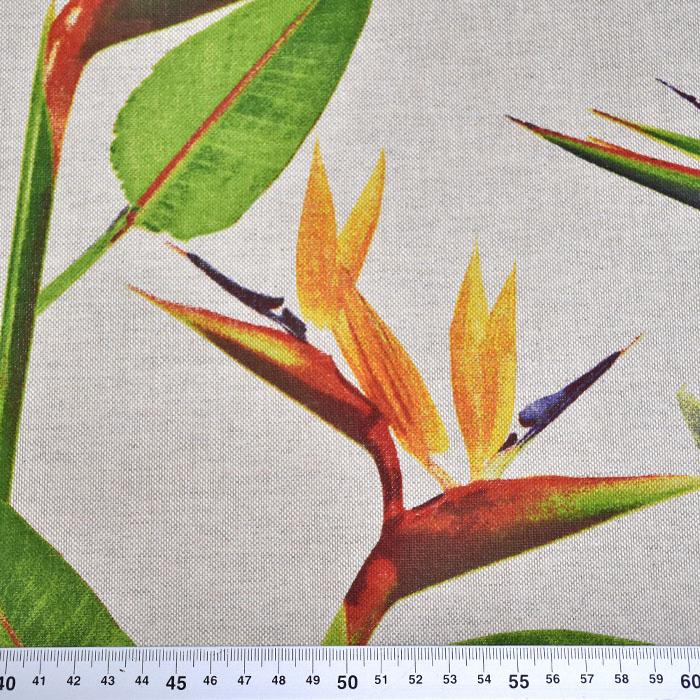 Deko, tisk, cvetlični, 15188-315
