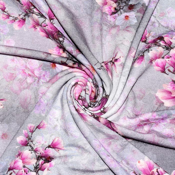 Jersey, viskoza, digital, cvetlični, 21375-12