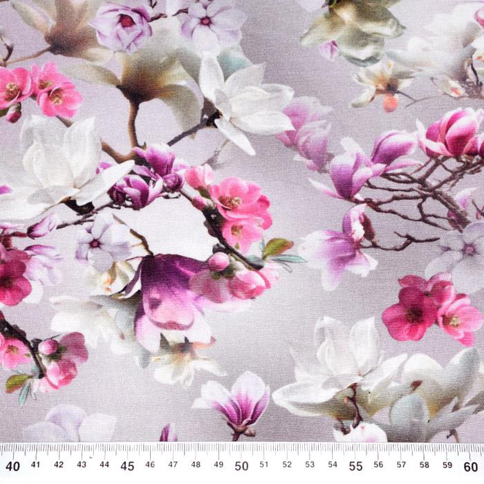 Jersey, viskoza, digital, cvetlični, 21375-15