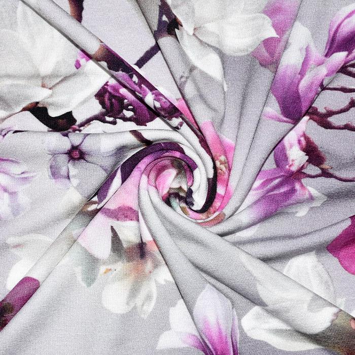 Jersey, viskoza, digital, cvetlični, 21375-22