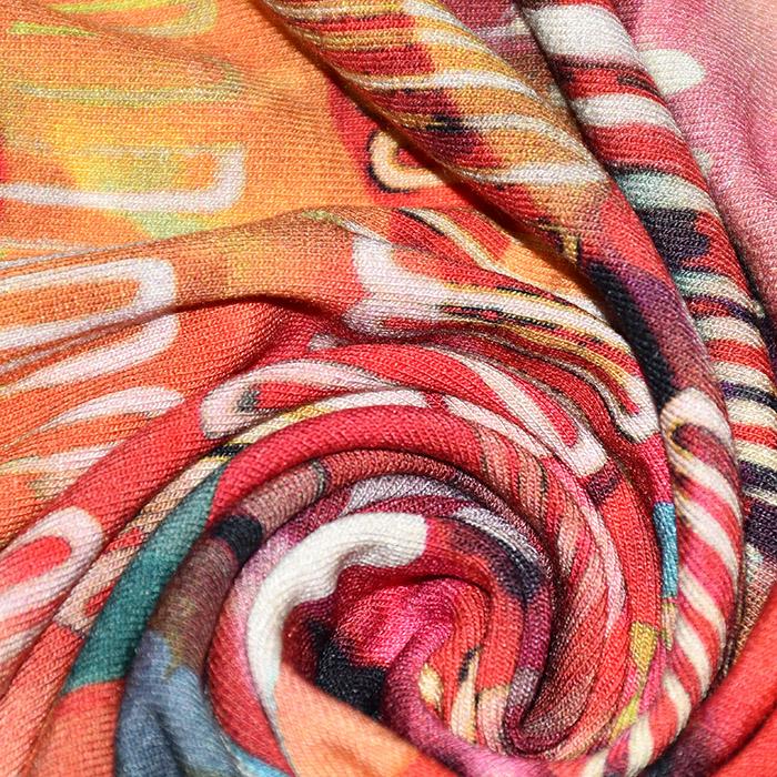 Jersey, viskoza, digital, abstraktni, 21375-37