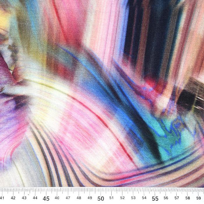 Jersey, viskoza, digital, abstraktni, 21375-59