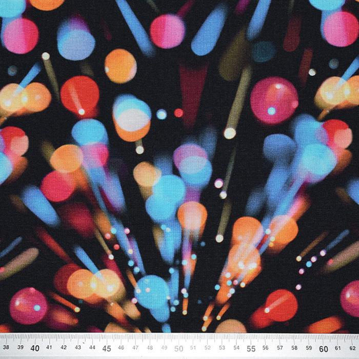Jersey, viskoza, digital, abstraktni, 21375-51