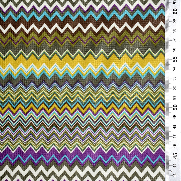 Mikrotkanina, geometrijski, 21573-800, rumeno zelena