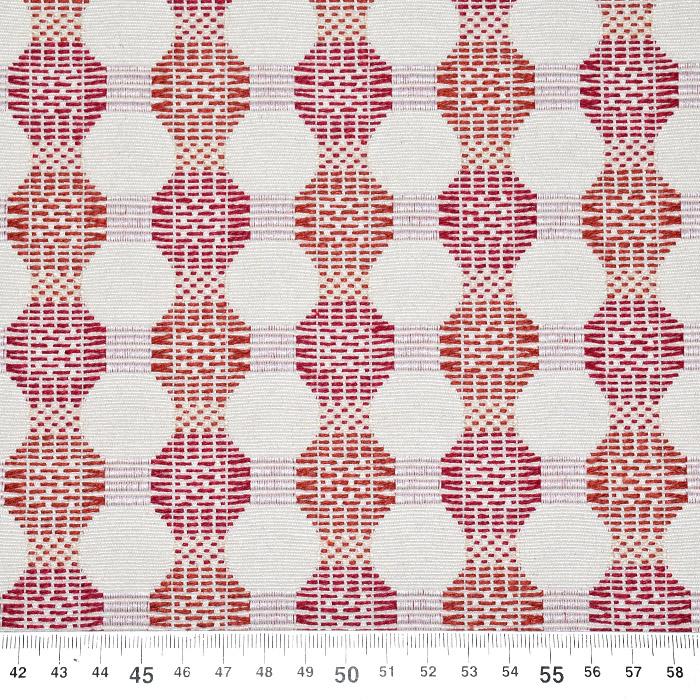 Deko žakard, obojestranski, 21571-306, rdeča