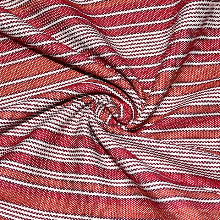 Dekorativa, Marsala, pruge, 21565-306, crvena