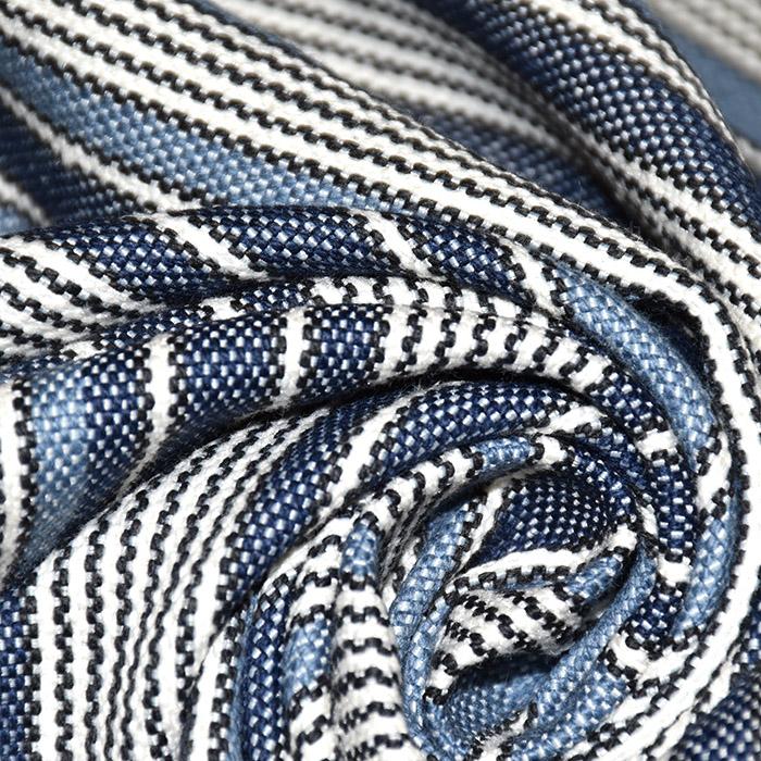 Dekorativa, Marsala, pruge, 21565-705, plava