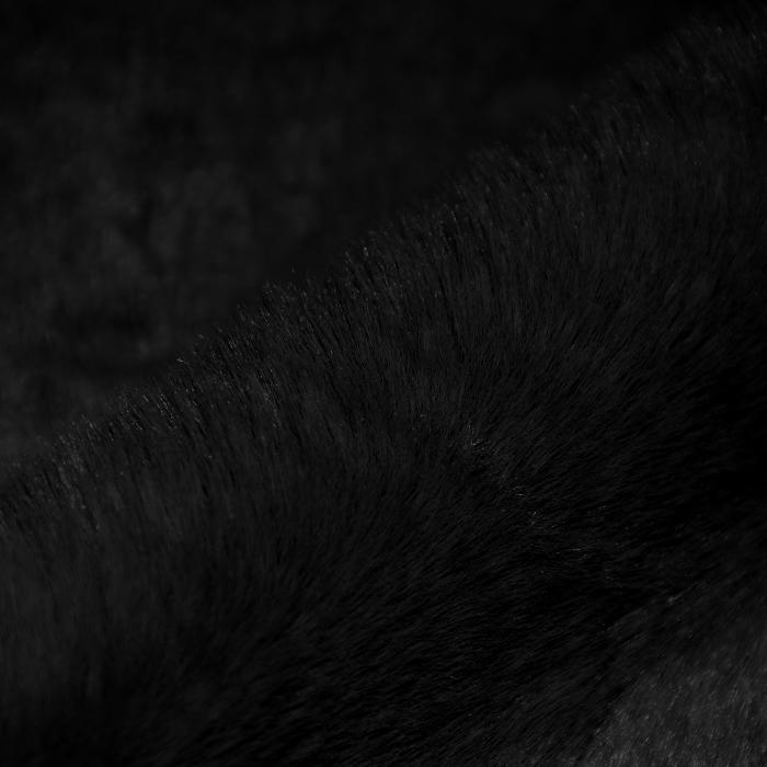 Umetno krzno, dolgodlako, 21579-1, črna