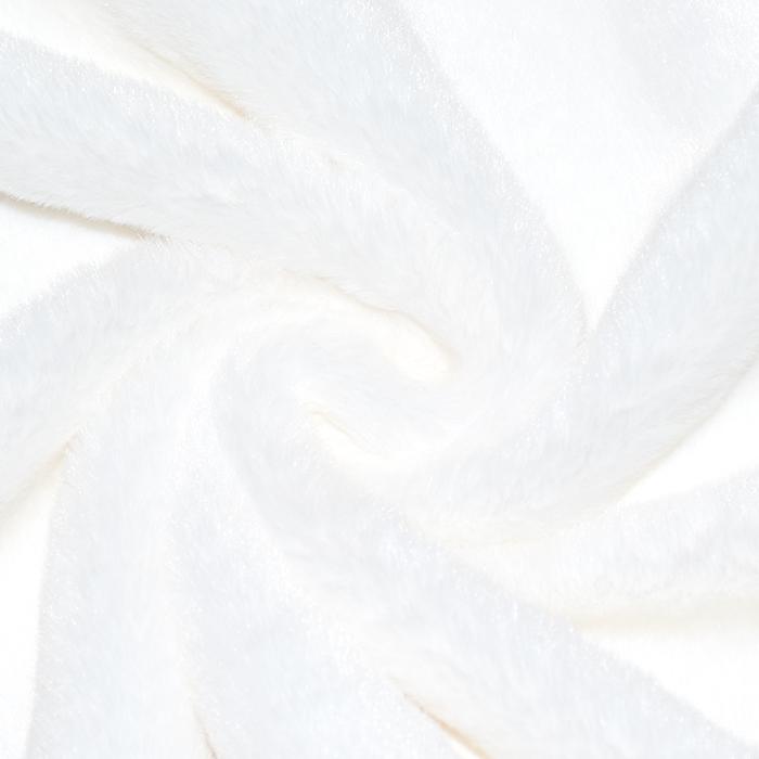 Krzno, umjetno, kratkodlako, 21580-1, bijela
