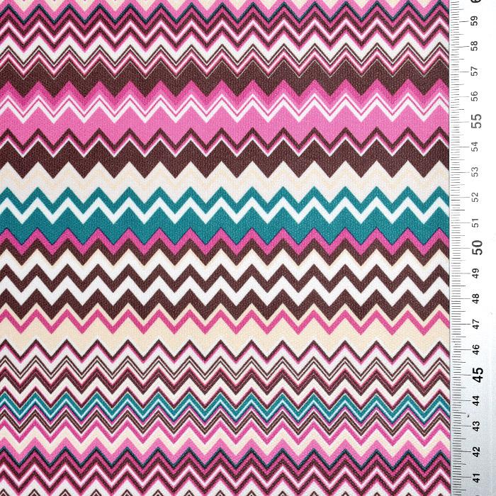 Mikrotkanina, geometrijski, 21573-901, roza