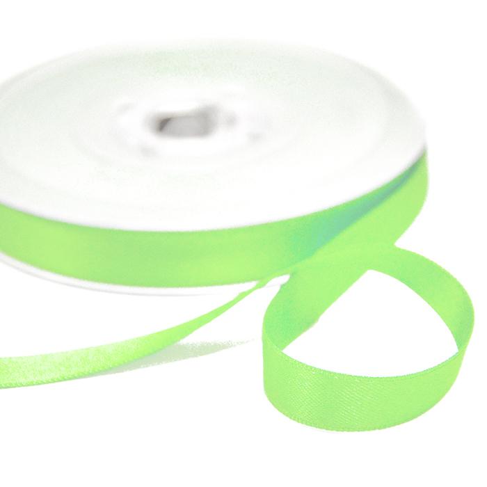Trak, saten, 10mm, 15458-1081, svetlo zelena