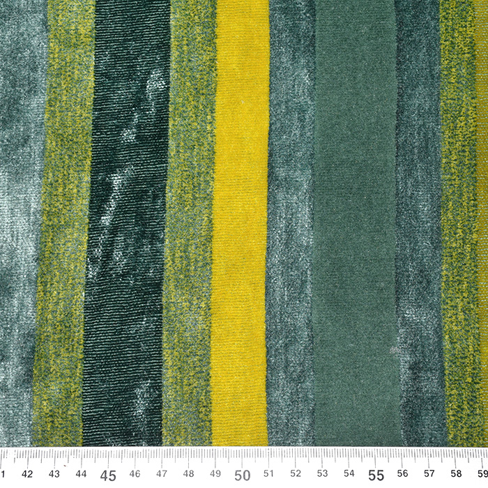 Deko žamet, Stripes, 21586-806, zelena