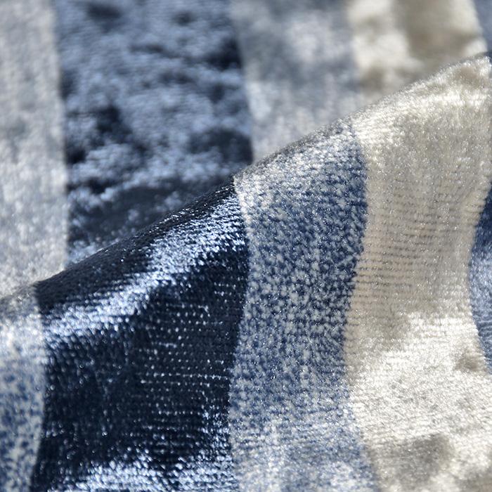 Deko žamet, Stripes, 21586-600, modra