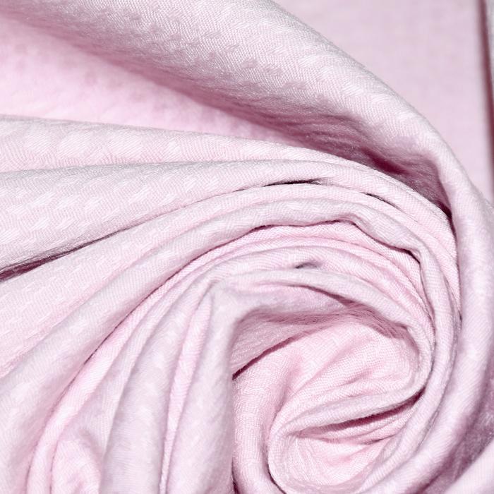 Bombaž, žakard, živalski, 21364-3, roza