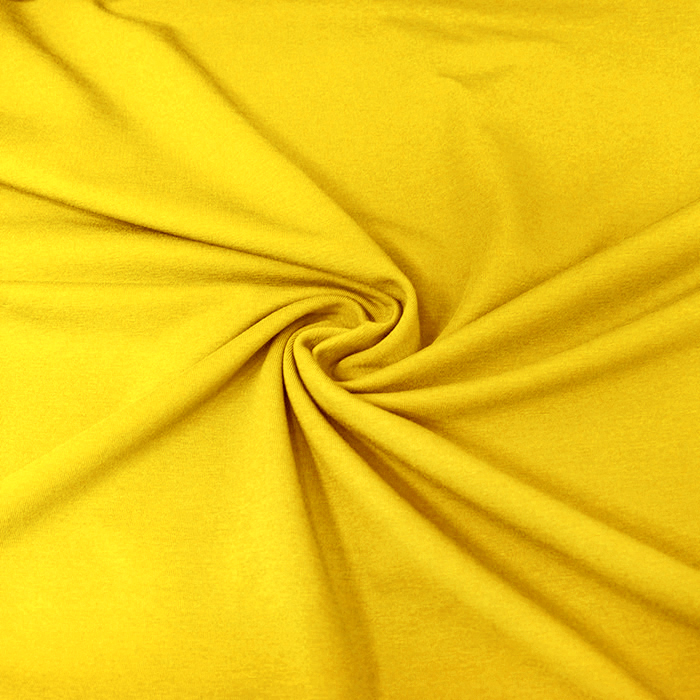 Jersey, bombaž, 13335-9, rumena