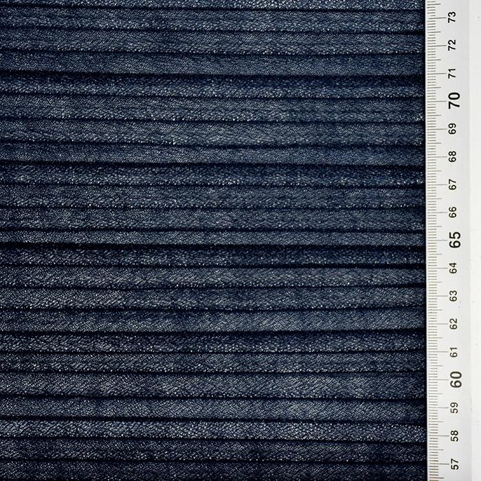 Saten, plise, 21583-4, temno modra