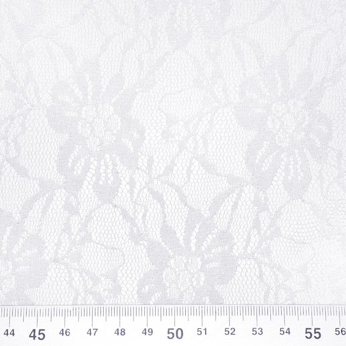 Čipka, elastična, 21658-050, bela