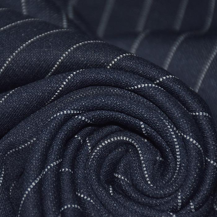 Pletivo, gosto, črte, 21659-008, temno modra