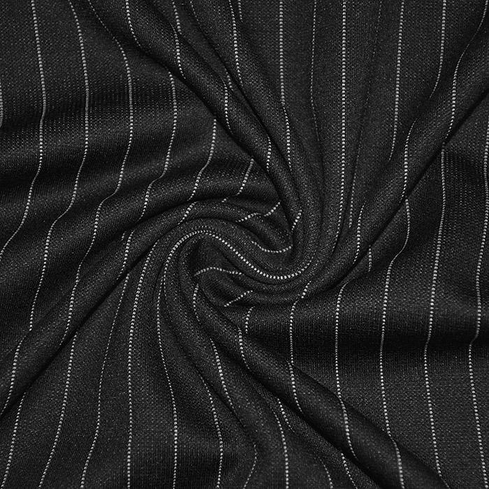 Pletivo, gosto, črte, 21659-069, črna