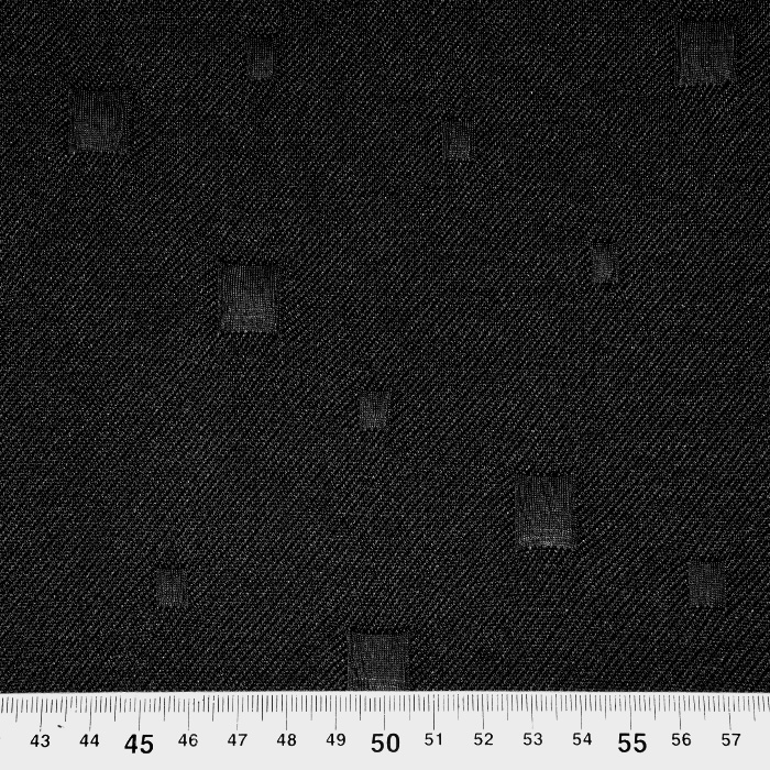 Pletivo, gosto, geometrijski, 21662-069, črna