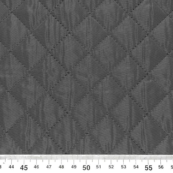 Prošiven materijal, karo, 21665-068, siva