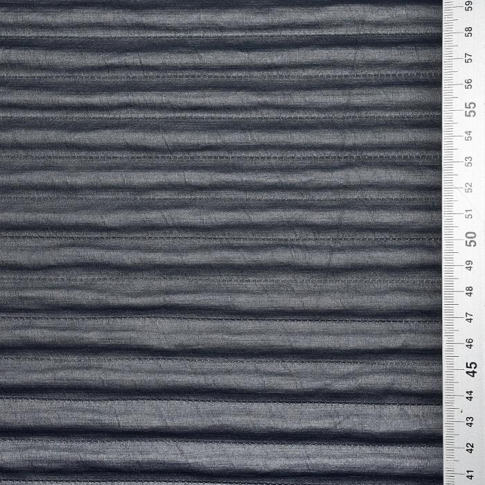 Pletivo, nanos, črte, 21668-068, denim siva
