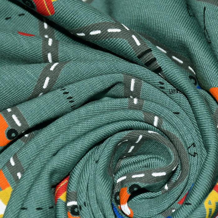 Jersey, bombaž, otroški, 21690-006, zelena