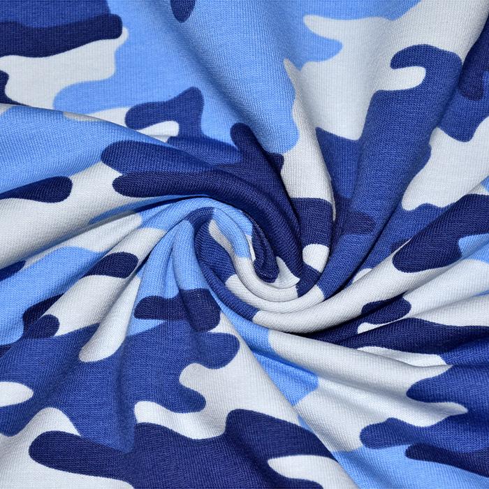 Prevešanka, kosmatena, kamuflažni, 21698-007, modra