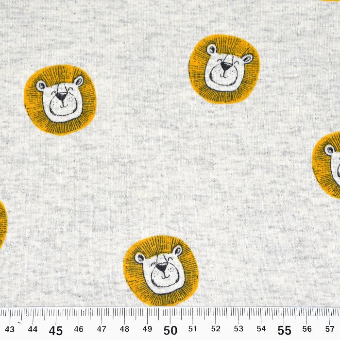 Jersey, živalski, 21718-020, rumeno siva