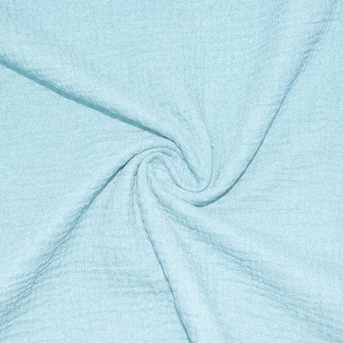 Tetra tkanina, dvojna, 18746-031, svetlo modra