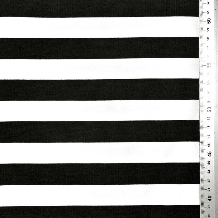 Prevešanka, črte, 21737-012, črno bela