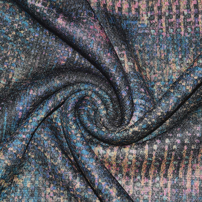 Pletivo, abstraktni, 21748-001, modra