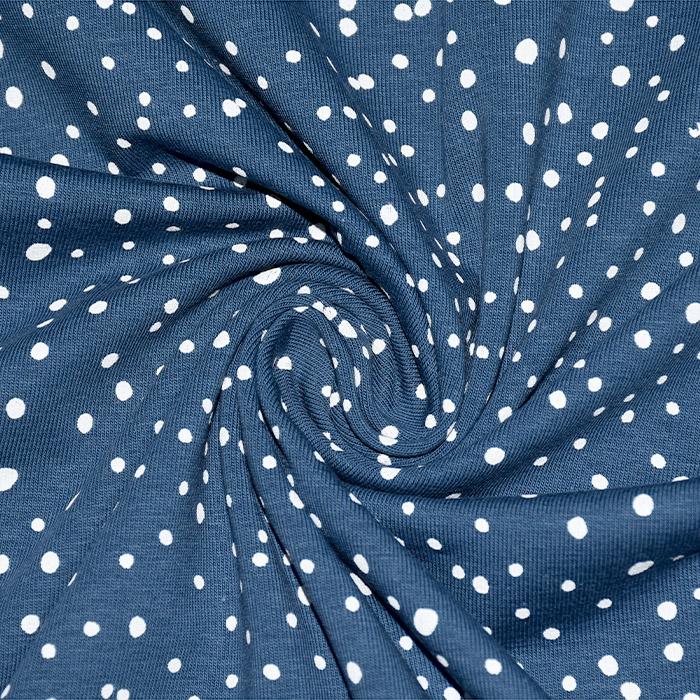 Jersey, bombaž, pike, 21761-003, modra