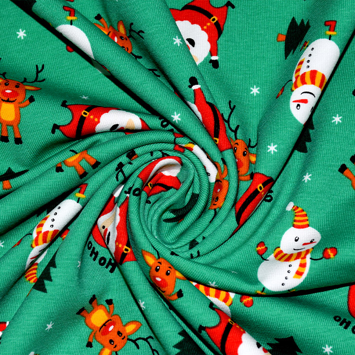 Jersey, pamuk, dječji, 21766-028, zelena