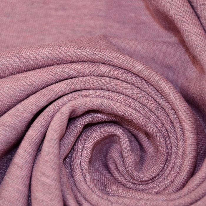 Jersey, melanž, 13336-013, alt roza