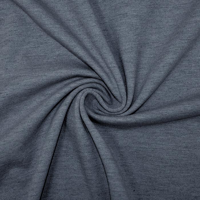 Jersey, melanž, 13336-108, modra