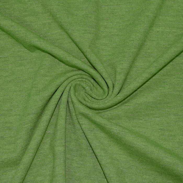 Jersey, melanž, 13336-025, zelena