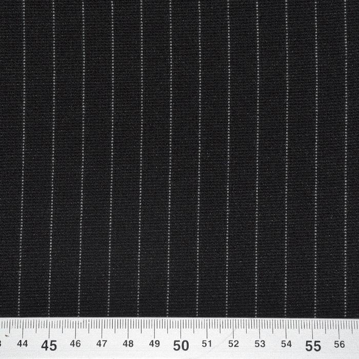 Pletivo gosto, črte, 21794-2, črno bela