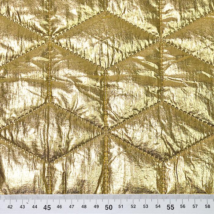Prošiven materijal, geometrijski, 21841-080, zlatna