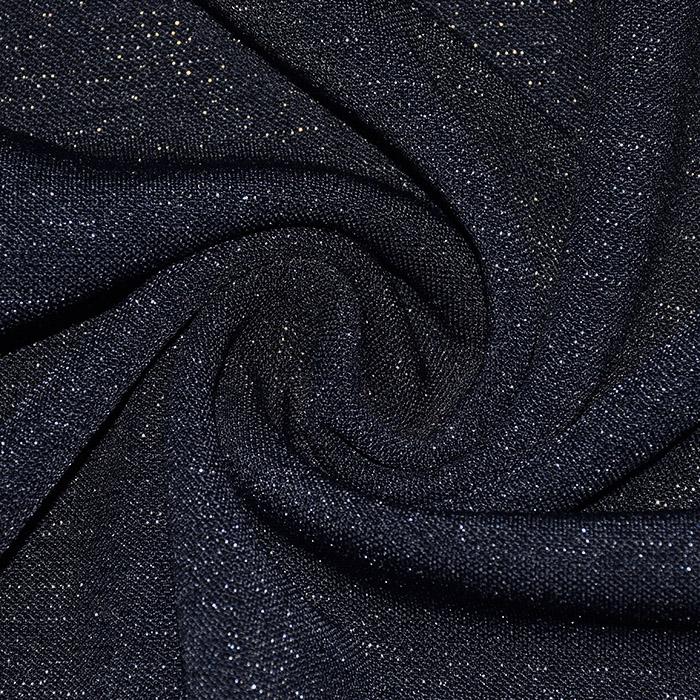 Pletivo, gosto, glitter, 21673-008, temno modra